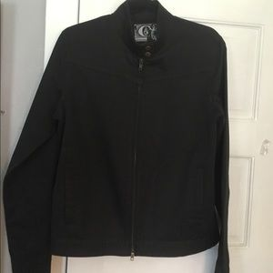 Volcom registered black jacket L